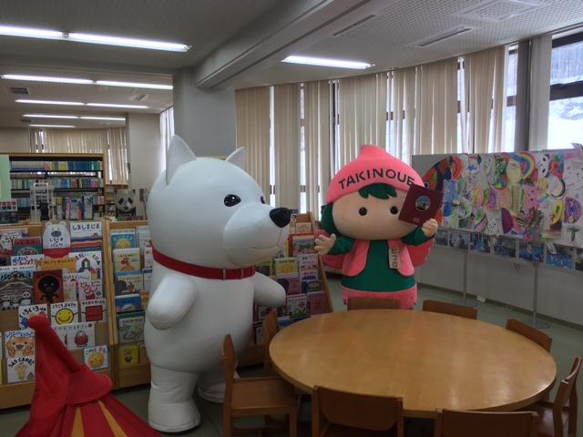 児童書コーナーにて